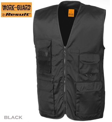 Result® Work Guard Safari Waistcoat (WJ-3)