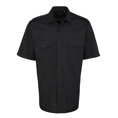 Men's Premier Pilot Shirt Short Sleeve (PSS-06)