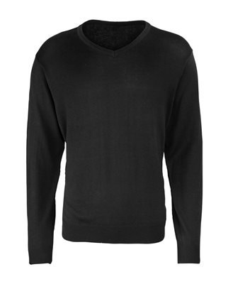 Premier Plain Men's V-Neck Sweater (NTM-10)