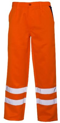 Reflective Poly Cotton Trouser