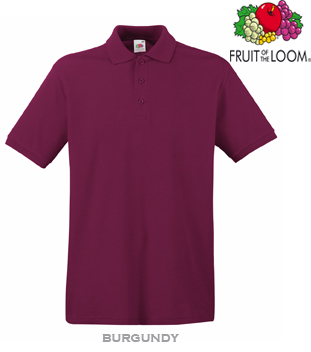 FRUIT of the LOOM Premium Cotton Polo (PQP-100)